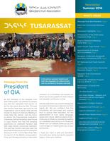 QIA Newsletter – Summer 2016