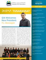 QIA Newsletter – Spring 2015