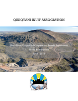 QIA Baffinland Mary River Inuit Impact Benefit Agreement 3-year review