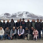 We had a great spring board meeting in Arctic Bay