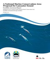 Feasibility Assessment Report – A National Marine Conservation Area Proposal for Lancaster Sound