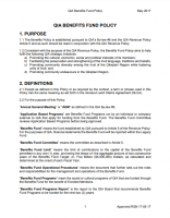 Benefits Fund Policy – ENG