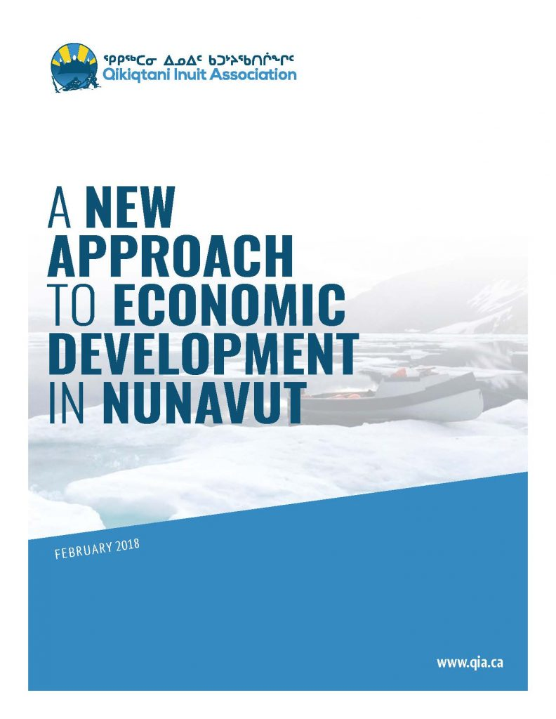 QIA shares a new approach to economic development in Nunavut