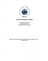 Elections Regulations – June 2014 – Approved and Final – ENG
