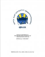 Procurement – RFP – CRO for 2018 Elections – April 2018 – Final