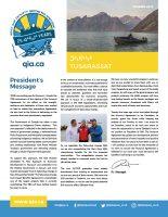 QIA Newsletter – Summer 2018