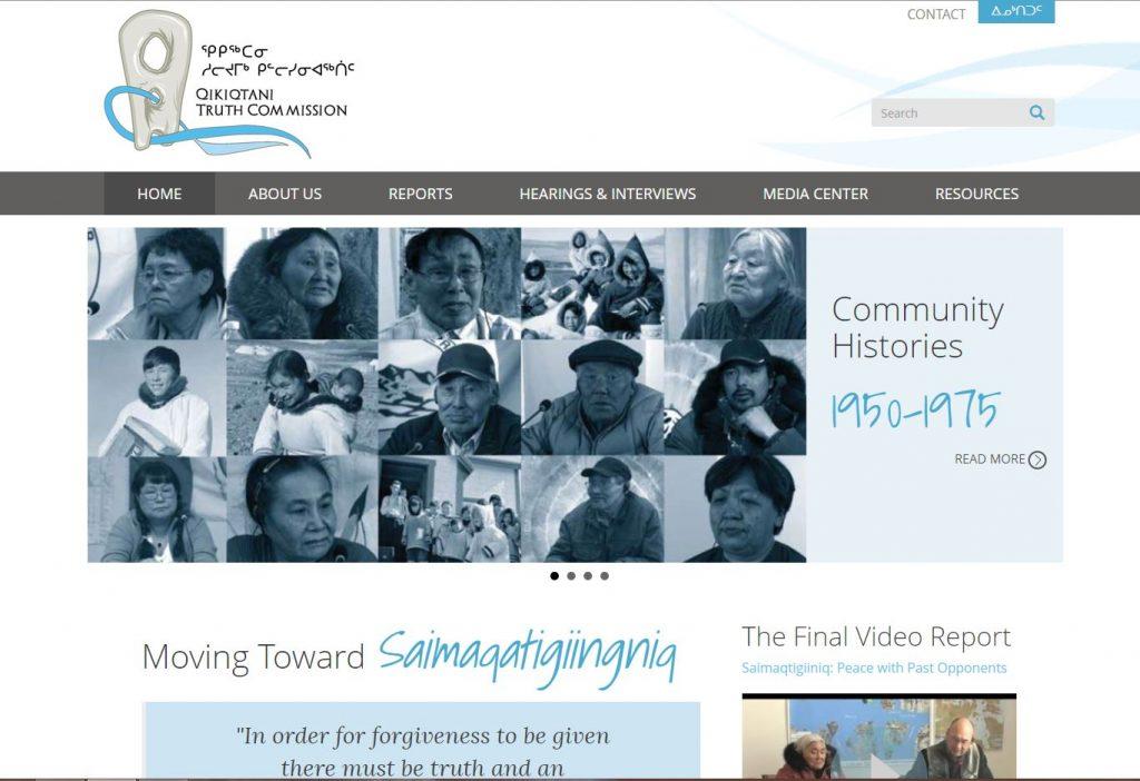 QIA expands Qikiqtani Truth Commission website