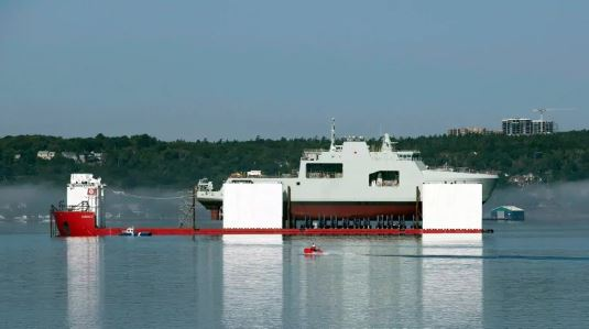 CBC North: New Canadian navy ships to be affiliated with