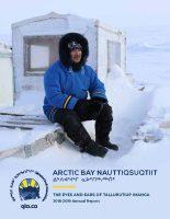 Arctic Bay Nauttiqsuqtiit annual report: THE EYES AND EARS OF TALLURUTIUP IMANGA