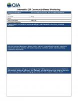 CBM Monitor Application Form Pond Inlet