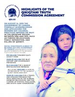 Highlights of the Qikiqtani Truth Commission Agreement