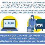 Media Release: Qikiqtani Inuit Association distributes 105 laptops to students across Region